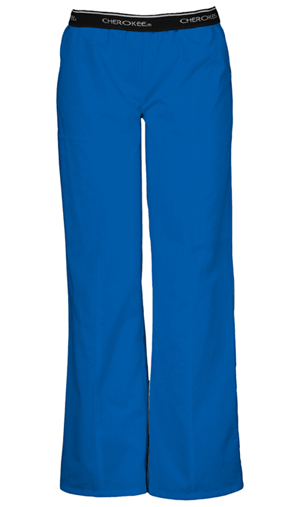 Cherokee Cherokee Fashion Solids Women's Pull-On Pant Blue