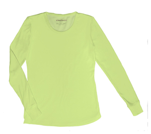 Heartsoul Underscrub Knit Tee Luscious Lime (20800-LCLH)