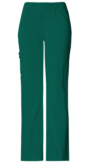 Flexibles Women's Mid Rise Knit Waist Pull-On Pant Green