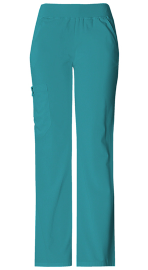 Flexibles Women's Mid-Rise Knit Waist Pull-On Pant Green