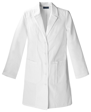"Cherokee Cherokee Whites Women's 36"" Lab Coat White"