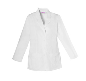 "Cherokee Whites Women's 30"" Lab Coat White"