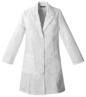 "Cherokee Cherokee Whites Women's 37"" Lab Coat White"