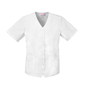 Cherokee Whites Women's Weskit Top White