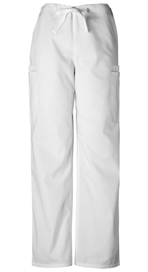 WW Originals Men's Men's Drawstring Cargo Pant White