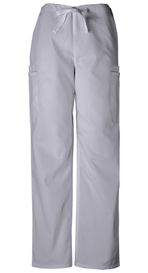 Cherokee Workwear WW Originals Men's Men's Drawstring Cargo Pant Grey