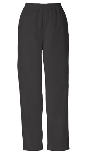 Cherokee Workwear WW Originals Women's Natural Rise Tapered Leg Pull-On Pant Black