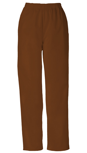 WW Originals Women's Natural Rise Tapered Leg Pull-On Pant Brown