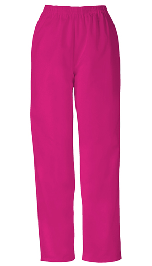 Cherokee Workwear WW Originals Women's Natural Rise Tapered Leg Pull-On Pant Red