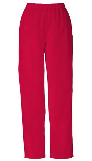 Cherokee Workwear WW Originals Women's Pull-on Pant Red