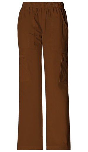 WW Premium Women's Mid Rise Pull-On Pant Cargo Pant Brown