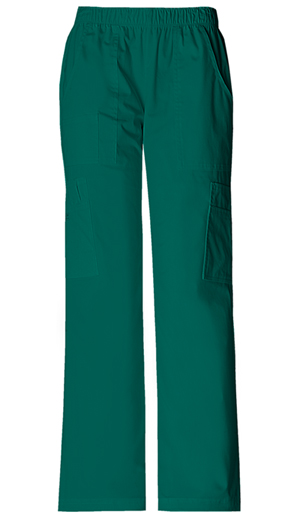 WW Premium Women's Mid Rise Pull-On Pant Cargo Pant Green