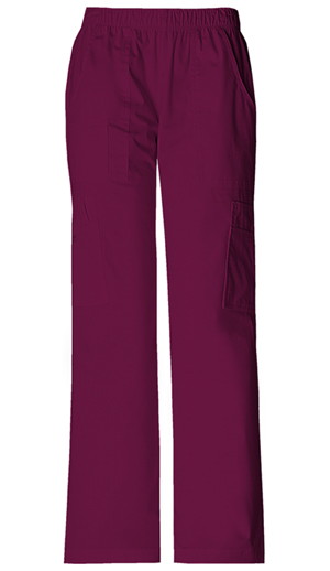 WW Premium Women's Mid Rise Pull-On Pant Cargo Pant Purple