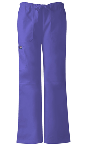 WW Originals Women's Low Rise Drawstring Cargo Pant Purple