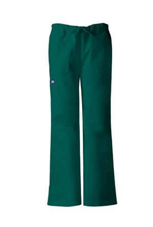 Cherokee Workwear WW Originals Women's Low Rise Drawstring Cargo Pant Green