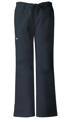 WW Originals Women's Low Rise Drawstring Cargo Pant Grey