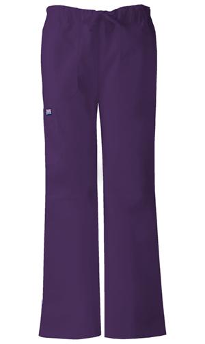 WW Originals Women's Low Rise Drawstring Cargo Pant Purple