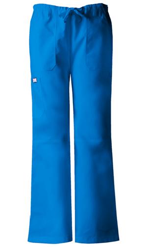 WW Originals Women's Low Rise Drawstring Cargo Pant Blue