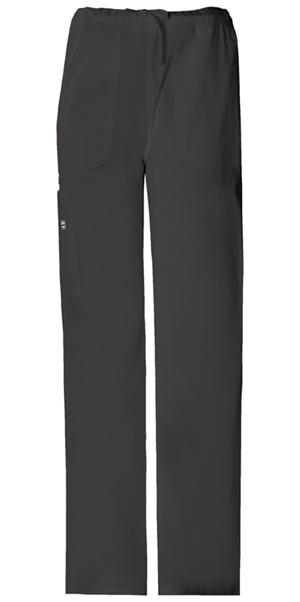 WW Premium Unisex Unisex Drawstring Cargo Pant Black