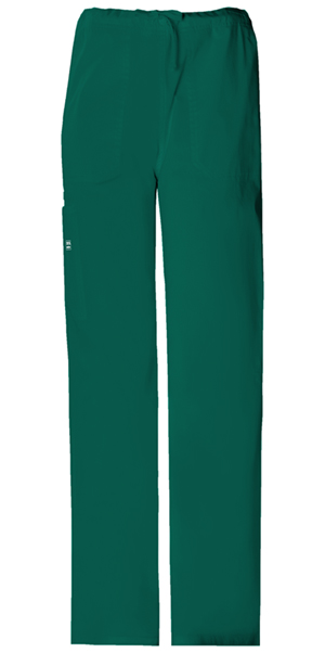 Cherokee Workwear WW Premium Unisex Unisex Drawstring Cargo Pant Green