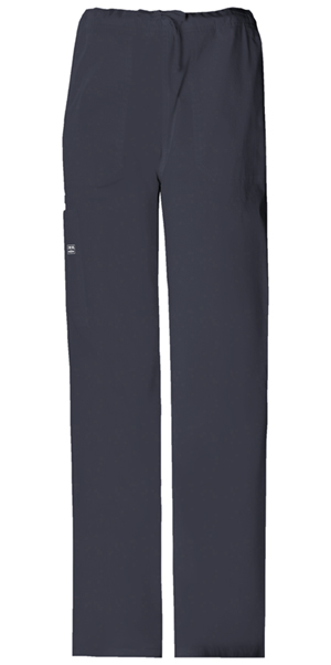 Cherokee Workwear WW Premium Unisex Unisex Drawstring Cargo Pant Grey