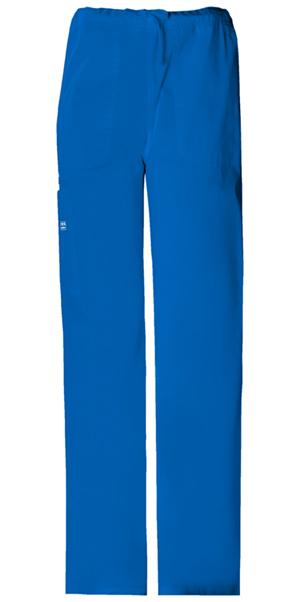 WW Premium Unisex Unisex Drawstring Cargo Pant Blue