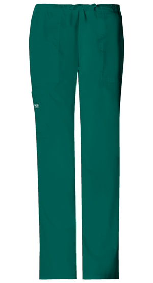Cherokee Workwear WW Premium Women's Mid Rise Drawstring Cargo Pant Green