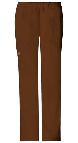 WW Premium Women's Mid Rise Drawstring Cargo Pant Brown