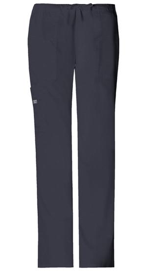 WW Premium Women's Mid Rise Drawstring Cargo Pant Grey