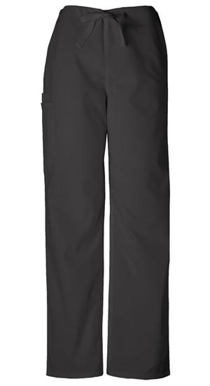 Cherokee Workwear WW Originals Unisex Unisex Drawstring Cargo Pant Black