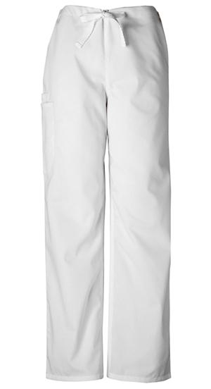 WW Originals Unisex Unisex Drawstring Cargo Pant White