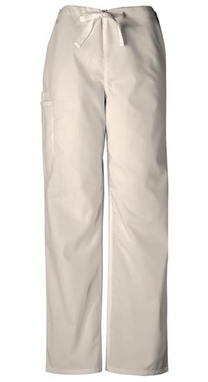 Cherokee Workwear WW Originals Unisex Unisex Drawstring Cargo Pant Khaki