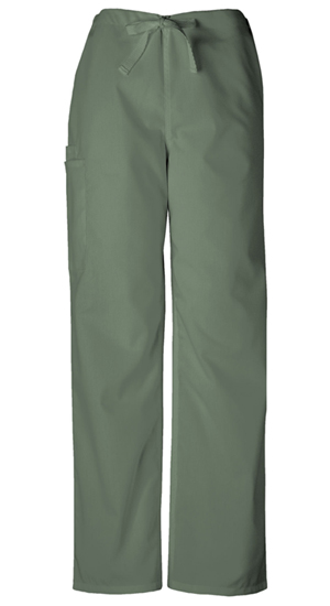 Cherokee Workwear WW Originals Unisex Unisex Drawstring Cargo Pant Green