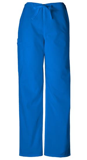 Cherokee Workwear WW Originals Unisex Unisex Drawstring Cargo Pant Blue
