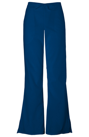 Cherokee Workwear WW Originals Women's Drawstring Pant Blue
