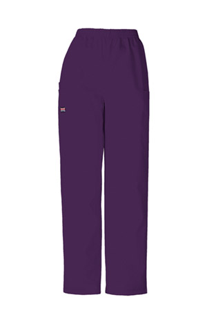 WW Originals Women's Natural Rise Tapered LPull-On Cargo Pant Purple