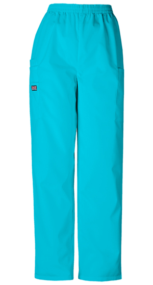 WW Originals Women's Natural Rise Tapered LPull-On Cargo Pant Blue