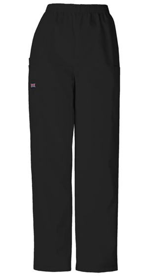 Cherokee Workwear WW Originals Women's Pull-On Cargo Pant Black
