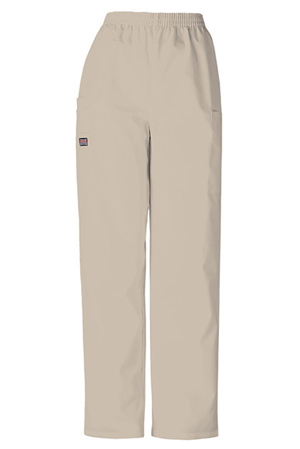 WW Originals Women's Natural Rise Tapered LPull-On Cargo Pant Khaki