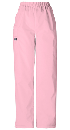 Cherokee Workwear WW Originals Women's Pull-On Cargo Pant Pink