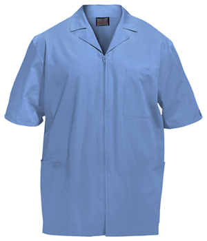 Cherokee Workwear WW Originals Men's Men's Zip Front Jacket Blue