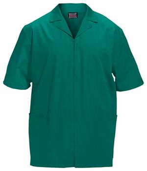 Cherokee Workwear WW Originals Men's Men's Zip Front Jacket Green