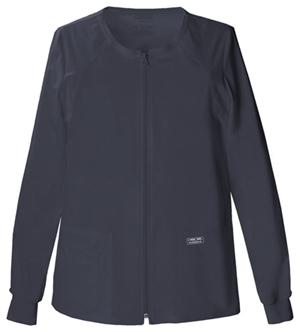 WW Premium Women's Zip Front Warm-Up Jacket Grey