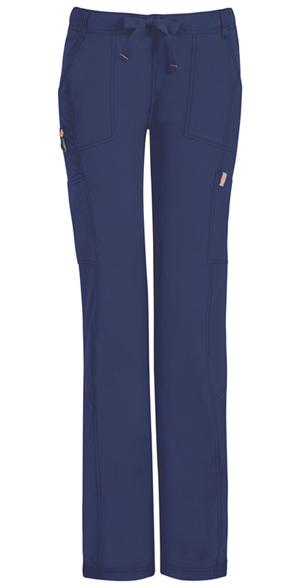 Code Happy Bliss Low Rise Straight Leg Drawstring Pant in Navy (46000ABP - NVCH)