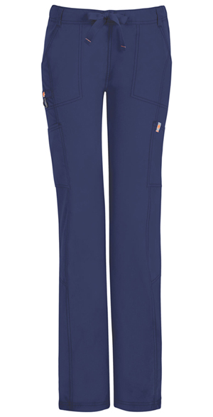 Code Happy Bliss Low Rise Straight Leg Drawstring Pant in Navy (46000ABT - NVCH)