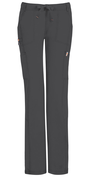Code Happy Bliss Low Rise Straight Leg Drawstring Pant in Pewter (46000AT - PWCH)