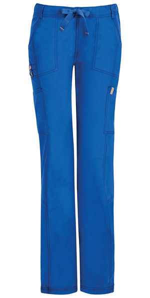 Code Happy Bliss Low Rise Straight Leg Drawstring Pant in Royal (46000AT - RYCH)