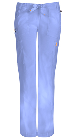 Code Happy Bliss Low Rise Straight Leg Drawstring Pant in Ciel (46000A - CLCH)