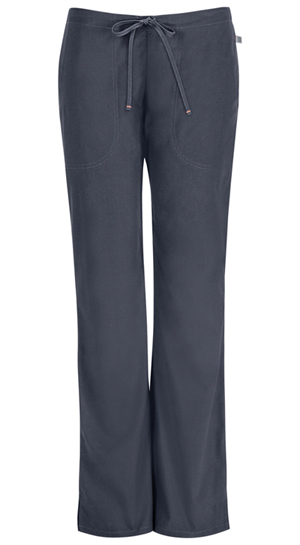 Code Happy Mid Rise Moderate Flare Drawstring Pant Pewter (46002A-PWCH)