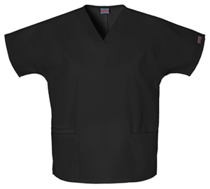 Cherokee Workwear WW Originals Women's V-Neck Top Black